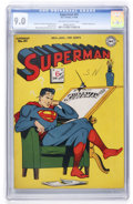 Golden Age (1938-1955):Superhero, Superman #41 Cookeville pedigree (DC, 1946) CGC VF/NM 9.0 Off-white to white pages....
