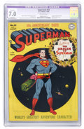 Golden Age (1938-1955):Superhero, Superman #53 (DC, 1948) CGC Apparent FN/VF 7.0 Slight (P) Off-white pages....