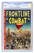 Golden Age (1938-1955):War, Frontline Combat #13 Gaines File pedigree 8/12 (EC, 1953) CGC NM+ 9.6 Off-white to white pages....