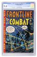 Golden Age (1938-1955):War, Frontline Combat #5 Gaines File pedigree 6/10 (EC, 1952) CGC NM 9.4Off-white to white pages....