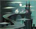 Animation Art:Production Drawing, Mary Blair Cinderella Animation Concept Painting OriginalArt (Disney, 1950)....