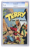 Golden Age (1938-1955):Adventure, Four Color #101 Terry and the Pirates (Dell, 1946) CGC NM+ 9.6 Cream to off-white pages....