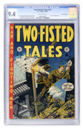 Golden Age (1938-1955):War, Two-Fisted Tales #33 Gaines File pedigree #11/12 (EC, 1953) CGC NM9.4 Off-white pages....