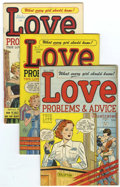 Golden Age (1938-1955):Romance, True Love Problems and Advice Illustrated File Copies Group(Harvey, 1949-58) Condition: Average VF+.... (Total: 48 ComicBooks)