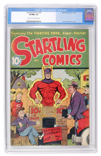 Startling Comics #39 (Better Publications, 1946) CGC VF/NM 9.0 Light tan to off-white pages