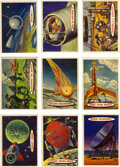 Memorabilia:Trading Cards, Space Cards Trading Card Complete Set (Topps, 1958)....