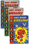 Silver Age (1956-1969):Humor, Hot Stuff Sizzlers File Copies Group (Harvey, 1960-74) Condition: Average VF/NM.... (Total: 53 Comic Books)