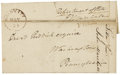 "Autographs:Statesmen, John Marshall Free Frank as secretary of state. One page, folded to5.5"" x 3.5"", Washington, D.C., November 23, n.y. Red wax..."