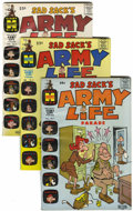 Silver Age (1956-1969):Humor, Sad Sack's Army Life Parade File Copies Group (Harvey, 1963-76) Condition: Average NM-.... (Total: 55 Comic Books)