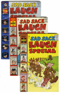 Silver Age (1956-1969):Humor, Sad Sack Laugh Special #2-67 File Copies Group (Harvey, 1959-72) Condition: Average NM-.... (Total: 66 Comic Books)
