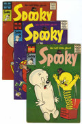 Silver Age (1956-1969):Humor, Spooky File Copies Group (Harvey, 1957-80).... (Total: 124 Comic Books)