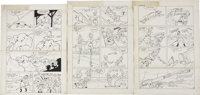 Steve Muffatti Little Audrey #25 First Harvey Issue Page Original Art Group of 6 (Harvey, 1952).... (Total: 6 Items)