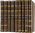 Books:Signed Editions, [Laurence Sterne]. The Life and Opinions of Tristram Shandy,Gentleman.... (Total: 9 Items)