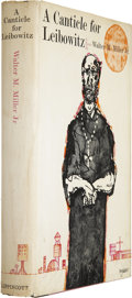 Books:First Editions, Walter M. Miller. A Canticle for Leibowitz. New York: J. B.Lippincott, 1960....