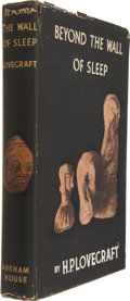 Books:First Editions, H.P. Lovecraft. Beyond the Wall of Sleep. Sauk City,Wisconsin: Arkham House, 1943....