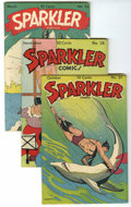 Golden Age (1938-1955):Miscellaneous, Sparkler Comics Group - Lost Valley pedigree (United Features Syndicate, 1944-46) Condition: Average VF....