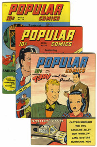 Popular Comics Group - Lost Valley pedigree (Dell, 1942-44)