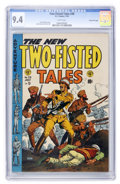 Golden Age (1938-1955):War, Two-Fisted Tales #38 Gaines File pedigree #7/12 (EC, 1954) CGC NM9.4 White pages....