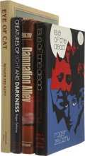 Books:First Editions, Roger Zelazny. Four First Editions - One Signed, including:Creatures of Light and Darkness. Garden City: Doubleday,...(Total: 4 Items)