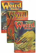 Pulps:Horror, Weird Tales Box Lot (Popular Fiction, 1947-54) Condition: Average VG/FN.... (Total: 47 Items)