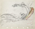 Animation Art:Production Drawing, Moose Hunters Animation Production Drawing Original Art (Disney, 1937)....