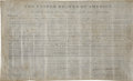 """Autographs:U.S. Presidents, James Monroe Land Grant Signed as President. One page, 16.25"""" x9.75"""", City of Washington, August 1, 1823...."""