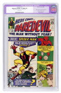 Silver Age (1956-1969):Superhero, Daredevil #1 (Marvel, 1964) CGC Apparent VF/NM 9.0 Slight (A)Off-white pages....