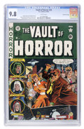 Golden Age (1938-1955):Horror, Vault of Horror #20 Gaines File pedigree 8/12 (EC, 1951) CGC NM/MT9.8 White pages....