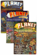 Pulps:Science Fiction, Planet Stories Group (Fiction House, 1939-52) Condition: AverageGD/VG.... (Total: 26 Items)
