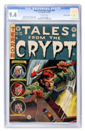 Golden Age (1938-1955):Horror, Tales From the Crypt #38 Gaines File pedigree 7/12 (EC, 1953) CGCNM 9.4 Off-white pages....