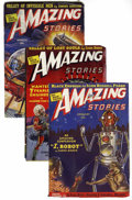 Pulps:Science Fiction, Amazing Stories Group (Ziff-Davis, 1939-47) Condition: AverageFN/VF.... (Total: 41 Items)