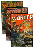 Pulps:Science Fiction, Thrilling Wonder Stories Group (Beacon, 1936-49).... (Total: 66Items)