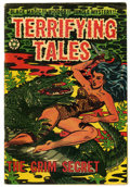 Golden Age (1938-1955):Adventure, Terrifying Tales #15 (Star Publications, 1954) Condition: VG+....