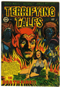Golden Age (1938-1955):Horror, Terrifying Tales #13 (Star Publications, 1953) Condition: FN....