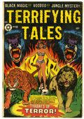 Golden Age (1938-1955):Horror, Terrifying Tales #11 (Star Publications, 1953) Condition: GD/VG....