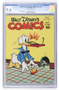 Golden Age (1938-1955):Cartoon Character, Walt Disney's Comics and Stories #70 File Copy (Dell, 1946) CGC NM+9.6 Off-white to white pages....
