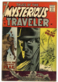 Silver Age (1956-1969):Horror, Tales of the Mysterious Traveler #5 (Charlton, 1957) Condition:VG+....