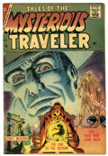 Silver Age (1956-1969):Horror, Tales of the Mysterious Traveler #3 (Charlton, 1957) Condition:FN-....
