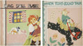 Books:Children's Books, Two Children's Books Illustrated by Fern Bisel Peat, including:Jane Randall. When Toys Could Talk. [and:] ... (Total: 2Items)