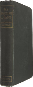 Books:First Editions, W. Somerset Maugham. The Making of a Saint. London, 1898....