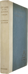 Books:First Editions, W. Somerset Maugham. The Land of the Blessed Virgin. London,1905. First edition, third variant binding....