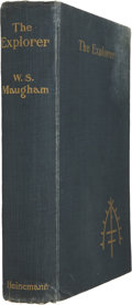 Books:First Editions, W. Somerset Maugham. The Explorer. London, 1908. Firstedition, first issue....
