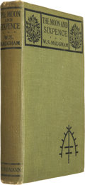 Books:First Editions, W. Somerset Maugham. The Moon and Sixpence. London, 1919.First edition, first issue....