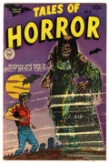 Golden Age (1938-1955):Horror, Tales of Horror #13 (Toby Publishing, 1954) Condition: FN/VF....