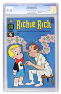 Silver Age (1956-1969):Humor, Richie Rich #24 File Copy (Harvey, 1964) CGC NM 9.4 Off-white to white pages....