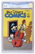 Golden Age (1938-1955):Funny Animal, Walt Disney's Comics and Stories #84 File Copy (Dell, 1947) CGC NM9.4 Off-white to white pages....