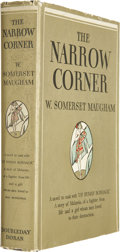Books:Signed Editions, W. Somerset Maugham. The Narrow Corner. Garden City:Doubleday, Doran & Company, 1932. First edition. Inscribedby...