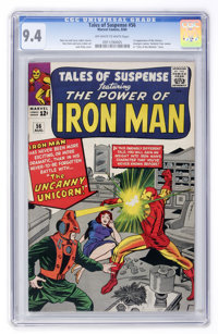 Tales of Suspense #56 (Marvel, 1964) CGC NM 9.4 Off-white to white pages