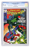 Silver Age (1956-1969):Superhero, The Amazing Spider-Man #78 (Marvel, 1969) CGC NM+ 9.6 Off-white pages....