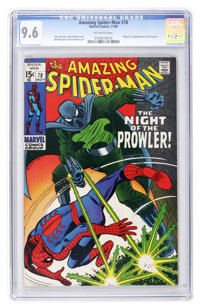 The Amazing Spider-Man #78 (Marvel, 1969) CGC NM+ 9.6 Off-white pages